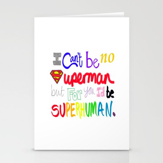 superhuman Stationery Cards