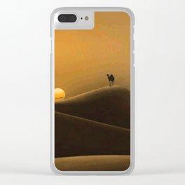 Dromedary Clear iPhone Case