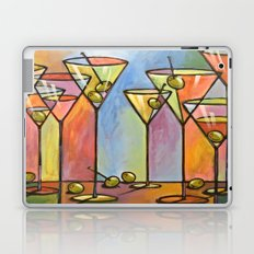 Martini Bar ... Abstract alcohol art Laptop & iPad Skin