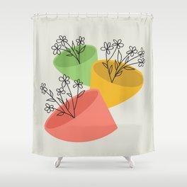POTS Shower Curtain