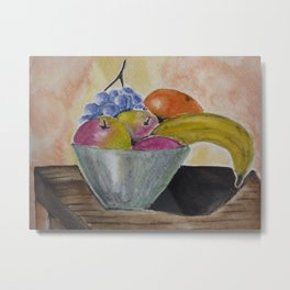 Fruit bowl Metal Print