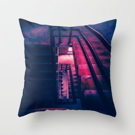 Oblong  Stairwell Throw Pillow