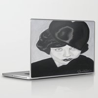 silent Laptop & iPad Skins featuring Silent Glamour by Cindy's Art