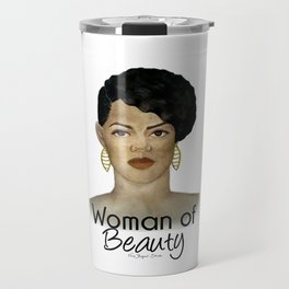 Woman of Beauty Travel Mug