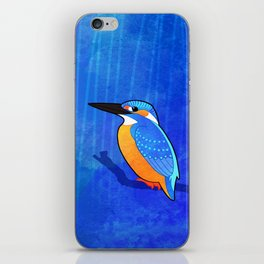 Common Kingfisher (Alcedo atthis) iPhone Skin