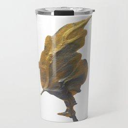 Golden Leaf Travel Mug