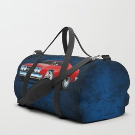Classic Muscle Car Cartoon Duffle Bag