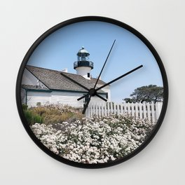 Old Point Loma Lighthouse - II Wall Clock