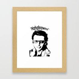 Hahahrawrrahaha Framed Art Print