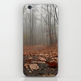Foggy Trail. iPhone Skin