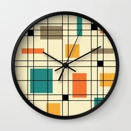 1950's Abstract Art Wall Clock