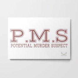 P.M.S Metal Print