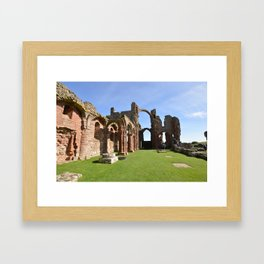 The Holy Island Priory Framed Art Print