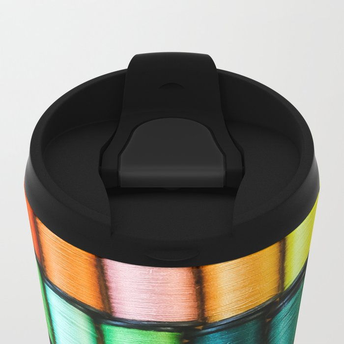 Cotton Reels Metal Travel Mug
