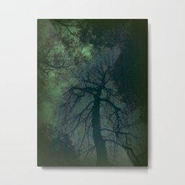 Gratitude Green Metal Print