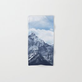 Snowy Mountain Peaks Hand & Bath Towel