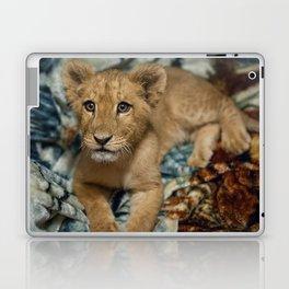 Lambert the Lion and His Blanket Laptop & iPad Skin