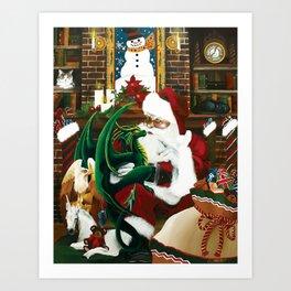 Seasons Greeting's Art Print