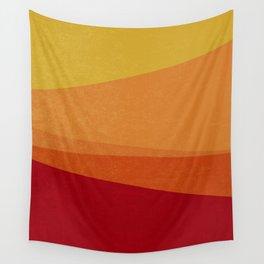 Stripe X Orange Peel Wall Tapestry