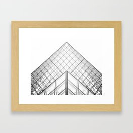 Louvre Framed Art Print