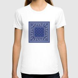Classic Royal Blue Bandana T-shirt