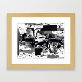 rood chango d'accordiomen Framed Art Print