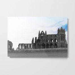 Whitby Abbey Metal Print