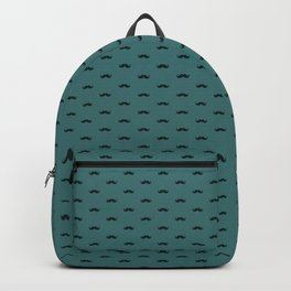 Mustache Pattern Backpack