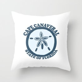 Cape Canaveral - Florida. Throw Pillow