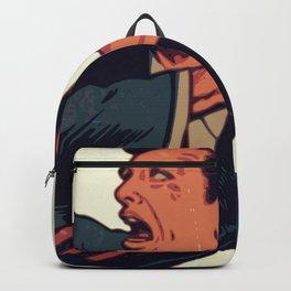 A Cucumber Attack Backpack