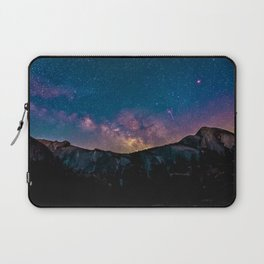 Milky Way Mountains Deep Pastels Laptop Sleeve