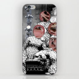 Women´s meating Collage iPhone Skin
