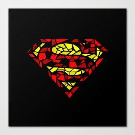 super man Canvas Print