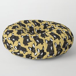 Brindle French Bulldog Floor Pillow