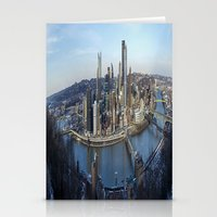 pittsburgh Stationery Cards featuring PITTSBURGH CITY by Stephanie Bosworth
