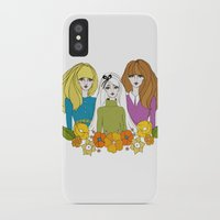 60s iPhone & iPod Cases featuring 60s girls by Bunny Miele