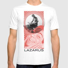 Lady White MEDIUM Mens Fitted Tee