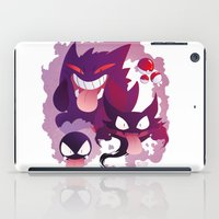 gengar iPad Cases featuring Peek a boo! by MortinfamiART