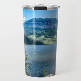 Beartooth Mountains Montana Wilderness Lake Travel Mug