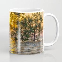 Sunrise over mangrove trees Coffee Mug