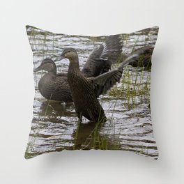 Duck Throw Pillow