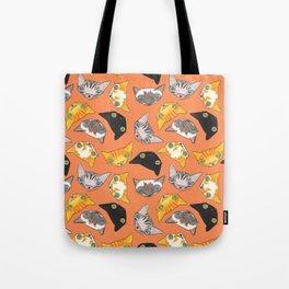 """""""Oro?"""" Cats-Salmon Color Tote Bag"""