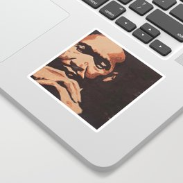 Dr. King Sticker