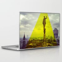 milan Laptop & iPad Skins featuring Milan by natsnats