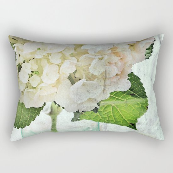 Whitish Rectangular Pillow