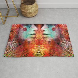 Gateway to the Ethereal Edifice Rug