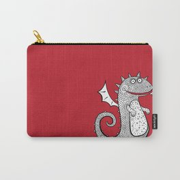 Cartoon dragon. Chinese Animal astrological signs. Hand drawn illustration. Carry-All Pouch