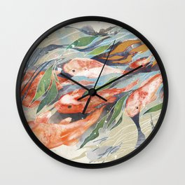 in the waterweeds Wall Clock
