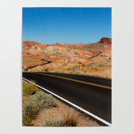Valley of Fire, Nevada. Poster