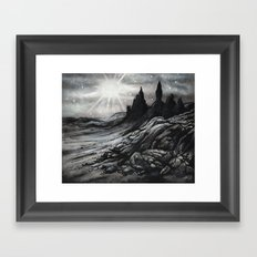 Old Man of Storr Framed Art Print